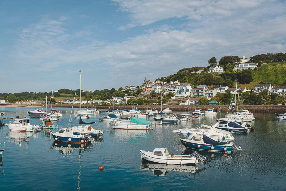 Gorey Harbour, Jersey, Channel Islands