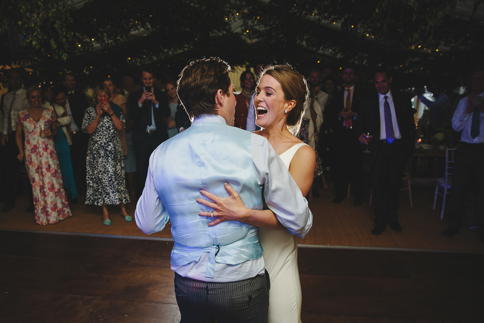 First dance at a wedding in Jersey, Channel Islands