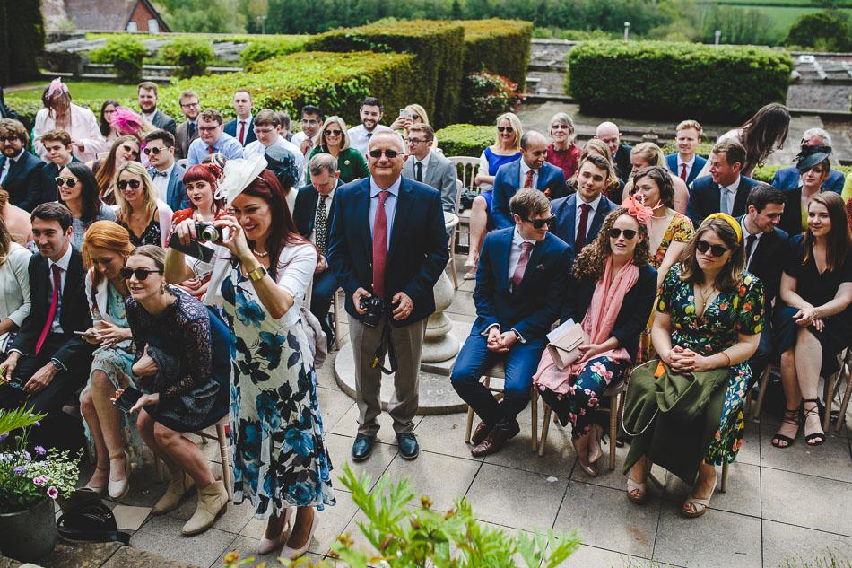 Barley Wood Wedding Ceremony