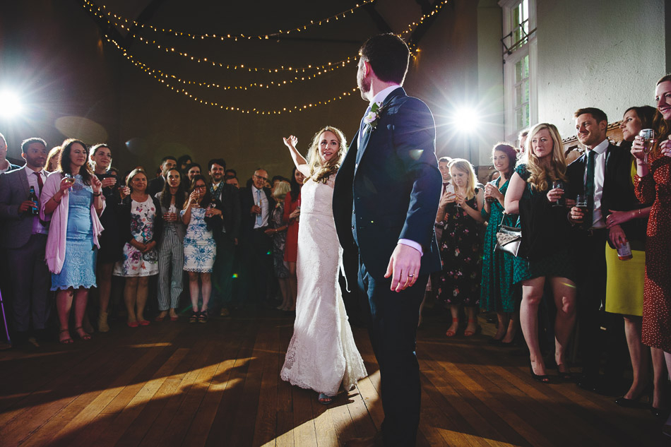 Barley Wood Wedding Photography First Dance