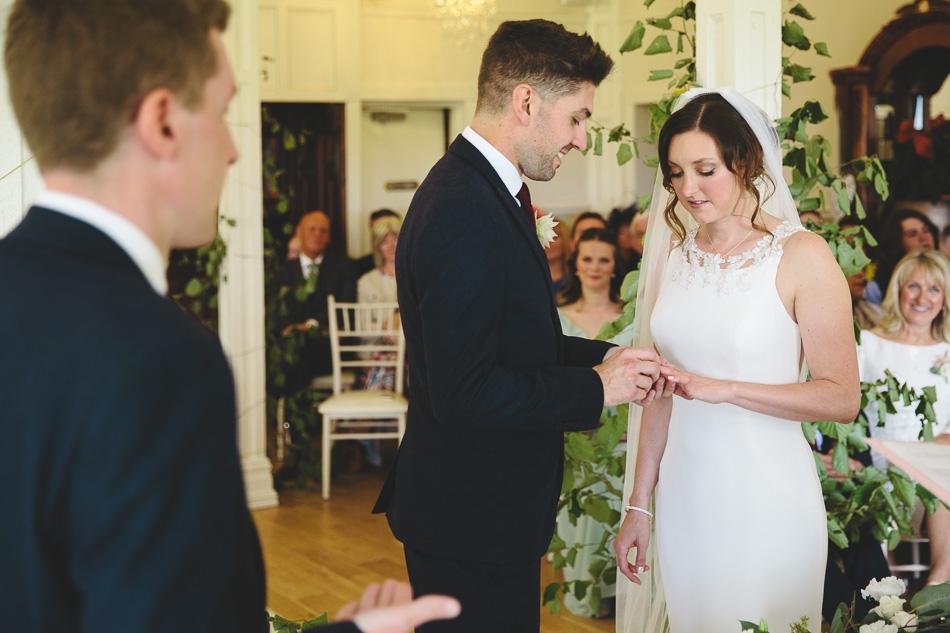 Berwick Lodge Wedding Ceremony