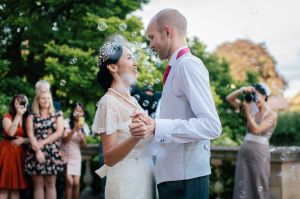 Merchants Hall Wedding Photo