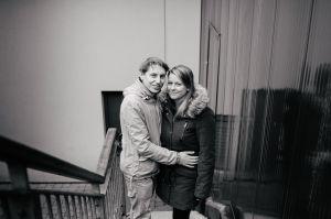 Bristol Paintworks Engagement Shoot