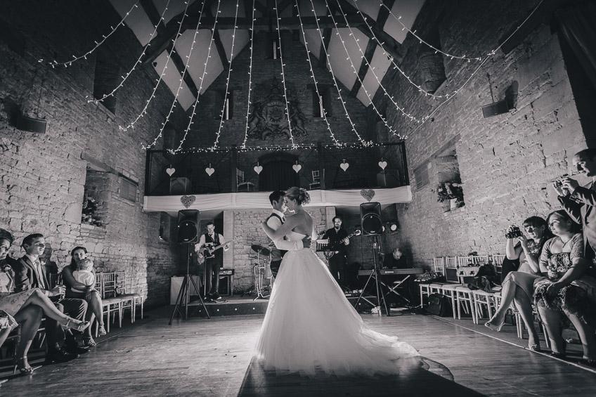 Great Tythe Barn Tetbury Wedding