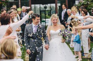 Great Tythe Barn Tetbury Wedding Photos