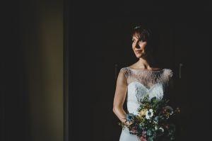Battle Axes Bridal Portrait