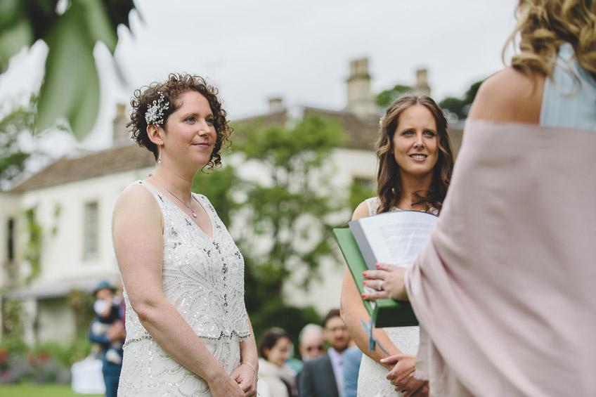 the wedding ceremony