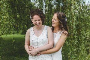 portrait of brides