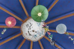 decorations in the Matara Centre
