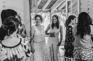 Brides entrace at the Matara Centre