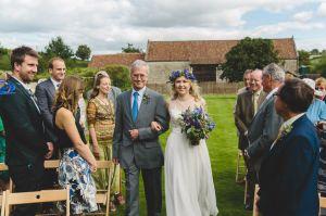 Priston Mill Outdoor Wedding Ceremony