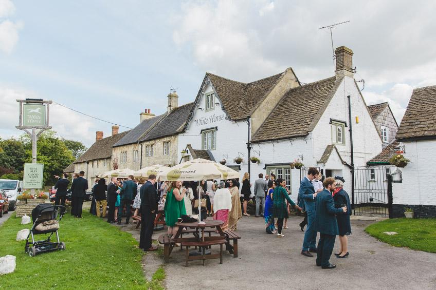 The White Horse Pub Biddestone
