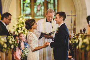 St Nicholas Church Biddestone Wedding Photography