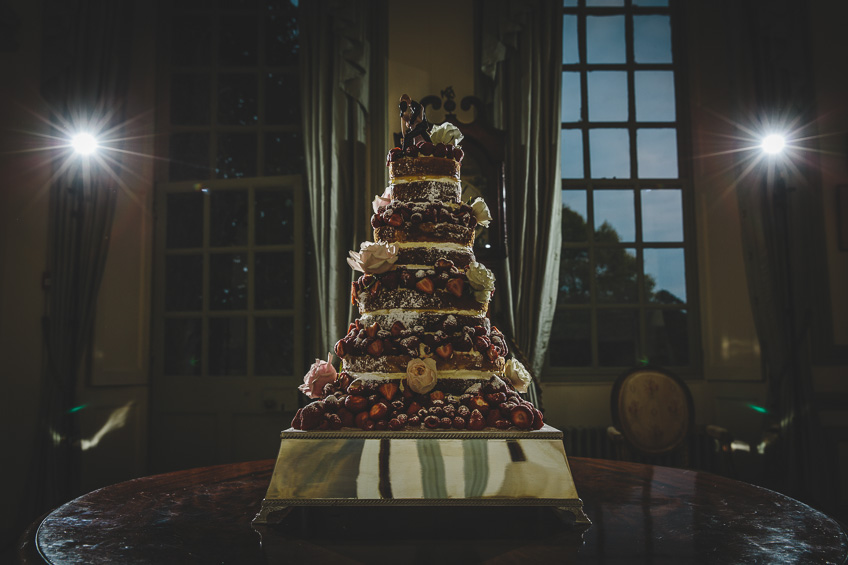 Brympton House Wedding Cake
