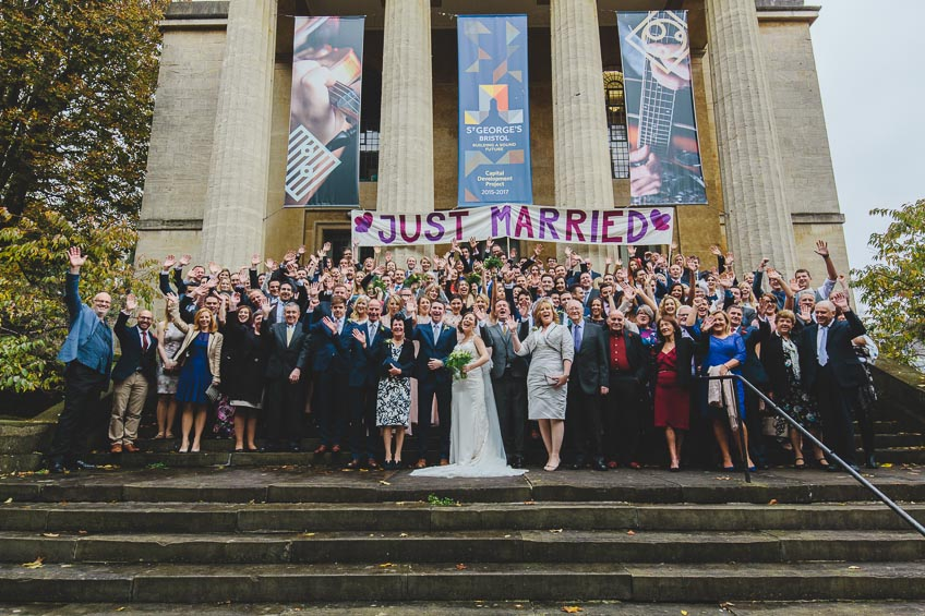 St Georges Hall Wedding Photographer Bristol