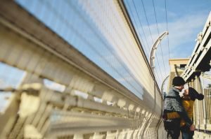 Clifton Suspension Bridge Engagement Shoot