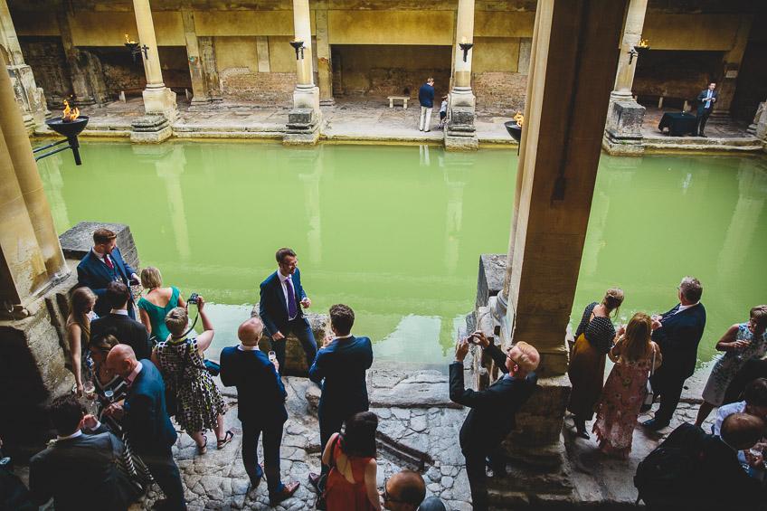 Roman Baths Wedding